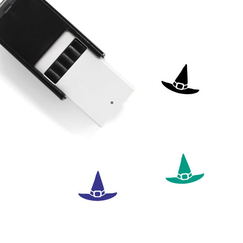 Witch Hat Self-Inking Rubber Stamp No. 48