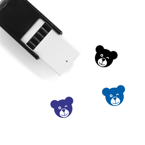 Bear Self-Inking Rubber Stamp No. 146
