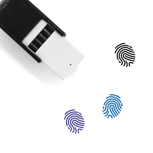 Finger Print Self-Inking Rubber Stamp No. 30