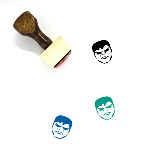 The Hulk Wooden Rubber Stamp No. 2