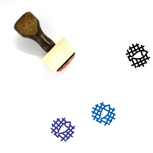 Cook Wooden Rubber Stamp No. 35