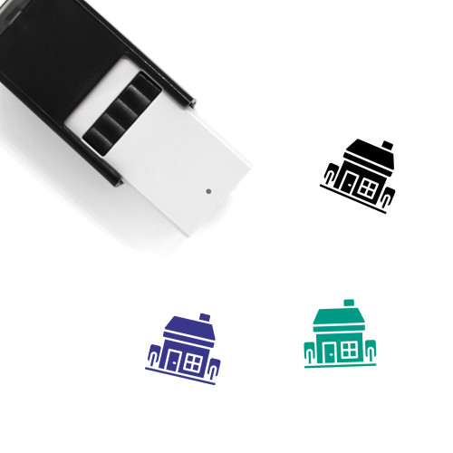 Family House Self-Inking Rubber Stamp No. 7