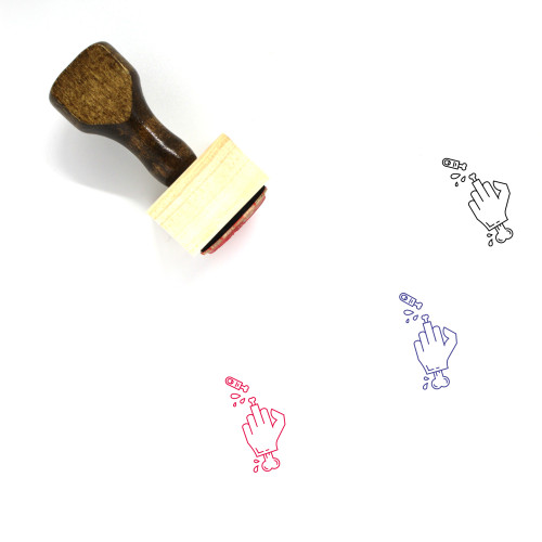 Torture Wooden Rubber Stamp No. 1