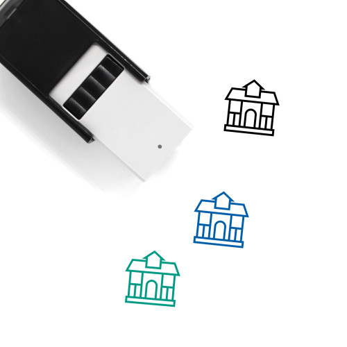 Residential Building Self-Inking Rubber Stamp No. 22