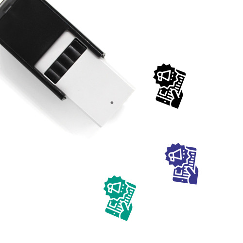 Campaign Self-Inking Rubber Stamp No. 6