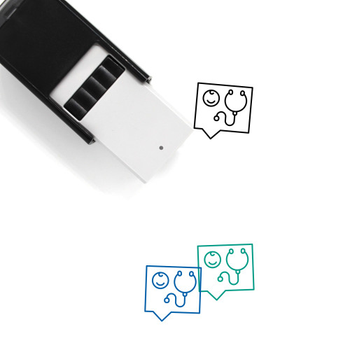 Pediatrician Self-Inking Rubber Stamp No. 3