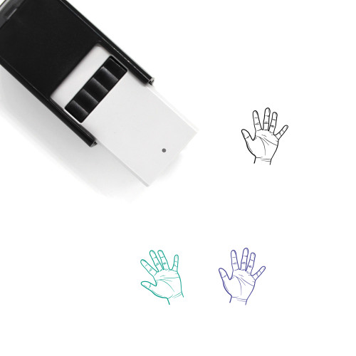 Five Self-Inking Rubber Stamp No. 41
