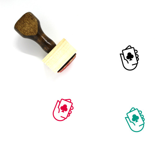 Club Wooden Rubber Stamp No. 36