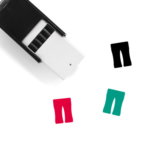 Formal Trouser Self-Inking Rubber Stamp No. 1