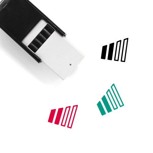 Phone Signal Self-Inking Rubber Stamp No. 18