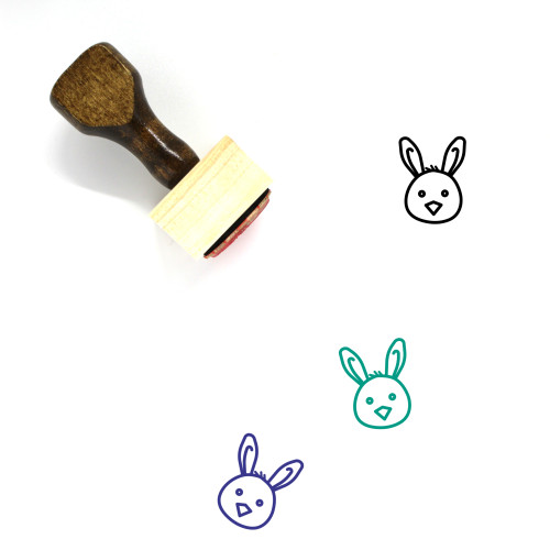 Chickling Wooden Rubber Stamp No. 2