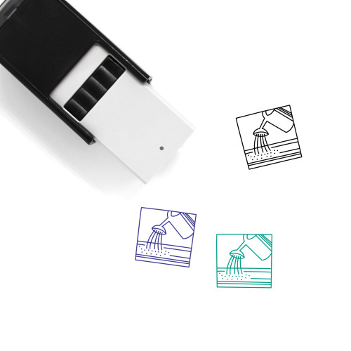 Watering Self-Inking Rubber Stamp No. 4