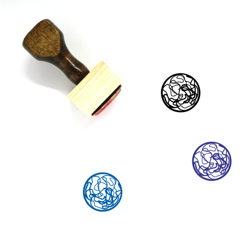 Planet Wooden Rubber Stamp No. 281