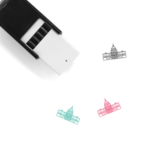 U.S. Capitol Building Self-Inking Rubber Stamp No. 1