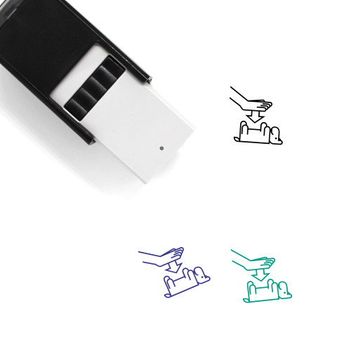 May I Pet Self-Inking Rubber Stamp No. 1