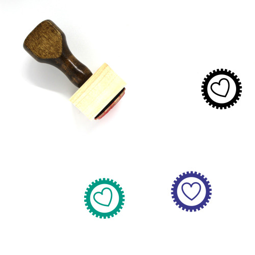 Love Wooden Rubber Stamp No. 654