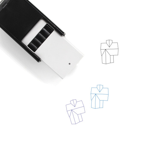 Bird's Eye View HOuse Self-Inking Rubber Stamp No. 5