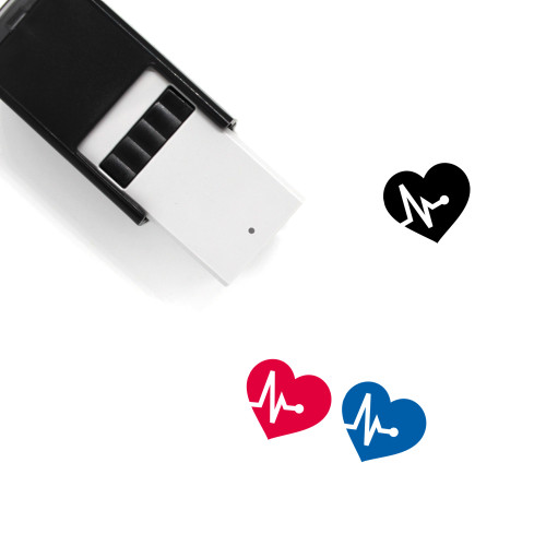 High Blood Pressure Self-Inking Rubber Stamp No. 1
