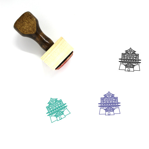 Shiro Wooden Rubber Stamp No. 3