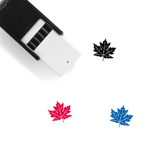 Maple Leaf Self-Inking Rubber Stamp No. 44