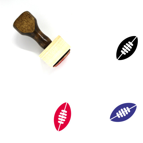 Sports Wooden Rubber Stamp No. 156