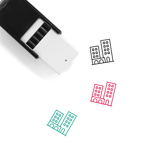 Town Self-Inking Rubber Stamp No. 122
