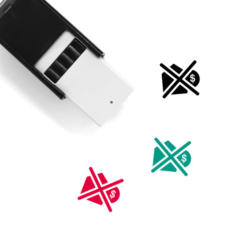 Poverty Self-Inking Rubber Stamp No. 1