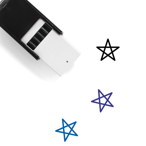 Wicca Self-Inking Rubber Stamp No. 1