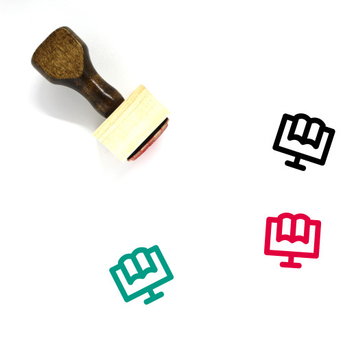 Training Wooden Rubber Stamp No. 48