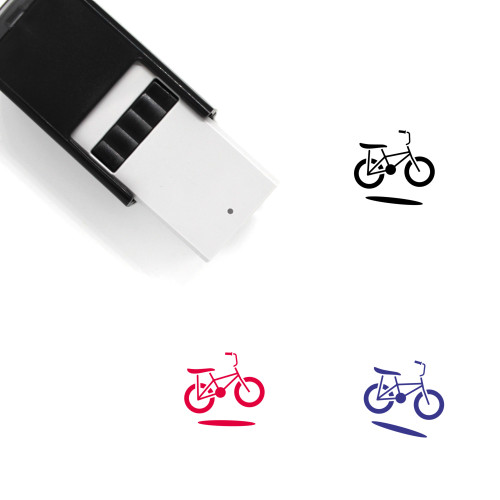 Bicycle Self-Inking Rubber Stamp No. 186