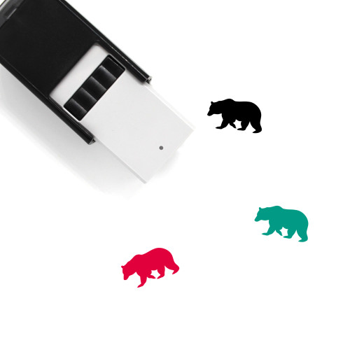 Bear Self-Inking Rubber Stamp No. 148