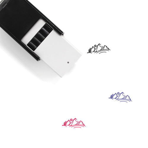 Hill Self-Inking Rubber Stamp No. 30