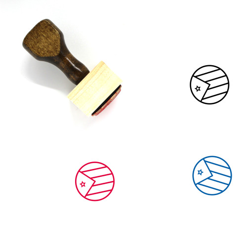 Cuba Wooden Rubber Stamp No. 41