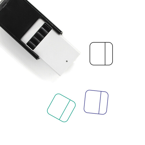 Columns Self-Inking Rubber Stamp No. 65
