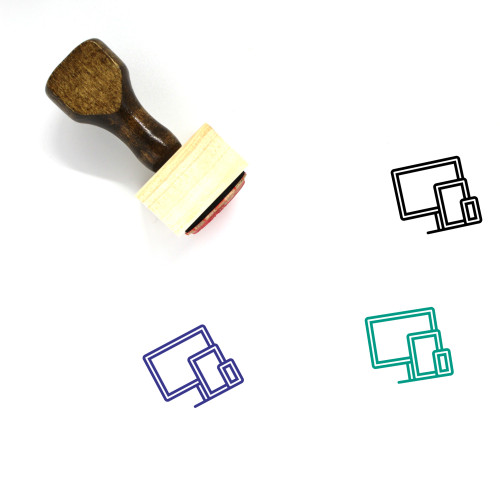 Devices Wooden Rubber Stamp No. 76