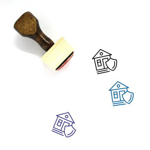 Insurance Wooden Rubber Stamp No. 9