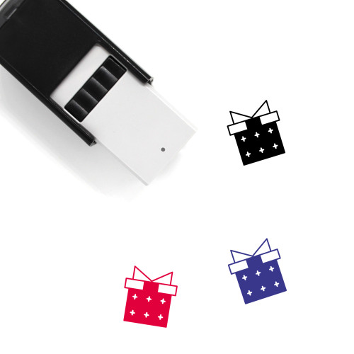 Present Self-Inking Rubber Stamp No. 37