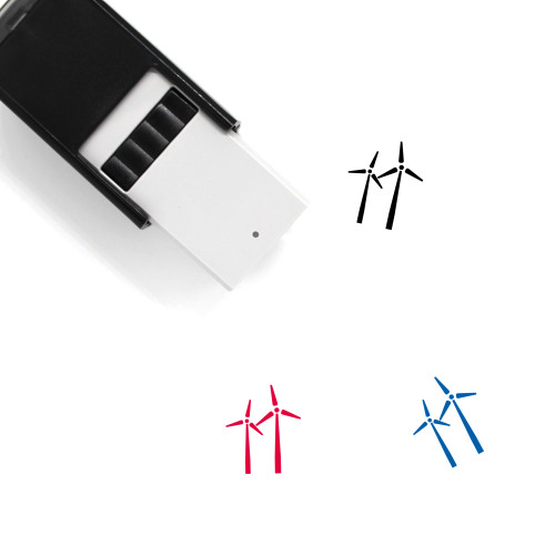 Windmills Self-Inking Rubber Stamp No. 11