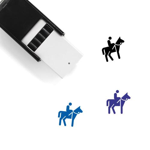 Horse Self-Inking Rubber Stamp No. 129