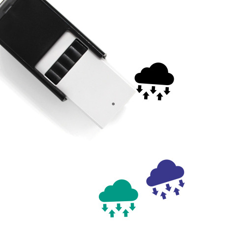 Cloud Self-Inking Rubber Stamp No. 356