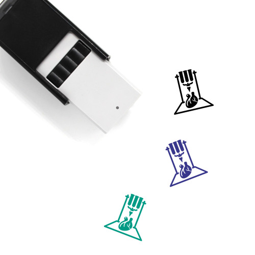 3D Organ Printing Self-Inking Rubber Stamp No. 25