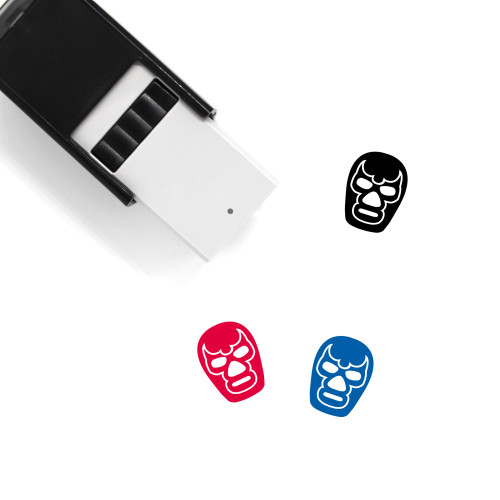 Mask Self-Inking Rubber Stamp No. 97