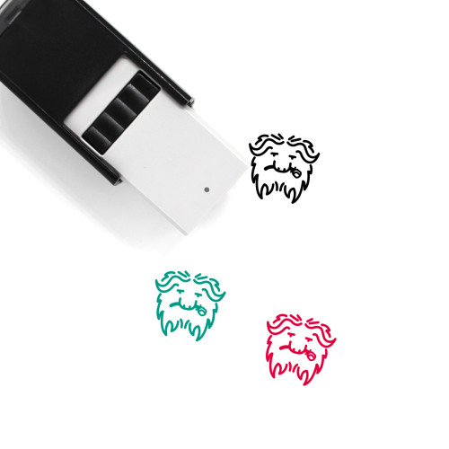 Muskox Self-Inking Rubber Stamp No. 1