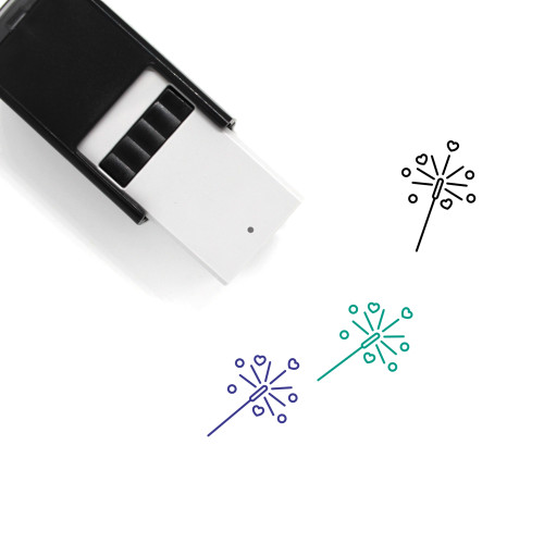 Sparklers Self-Inking Rubber Stamp No. 29
