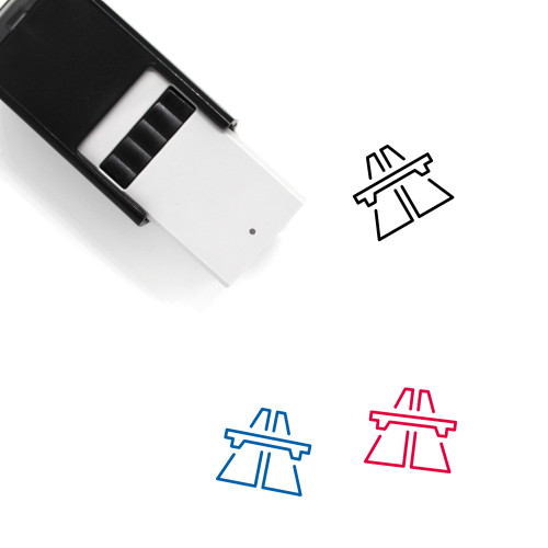 Highway Self-Inking Rubber Stamp No. 48