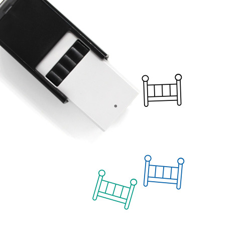 Crib Self-Inking Rubber Stamp No. 37