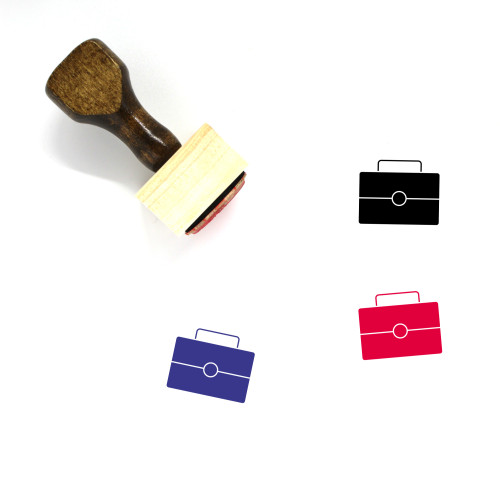 Kit Wooden Rubber Stamp No. 25