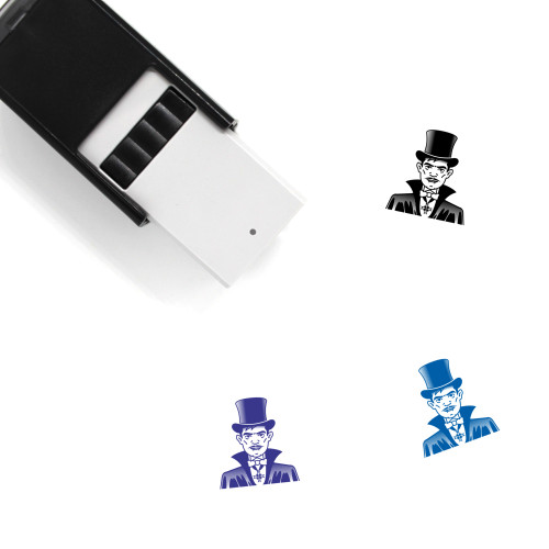 Count Self-Inking Rubber Stamp No. 10