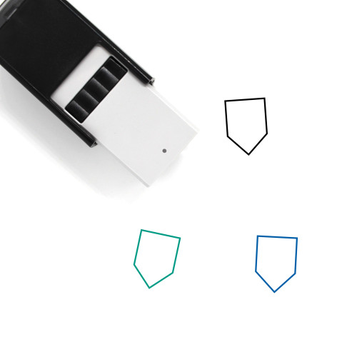 Shield Self-Inking Rubber Stamp No. 717