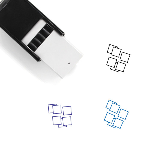 Sticky Notes Self-Inking Rubber Stamp No. 34